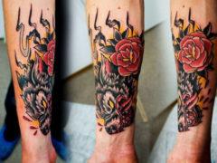 Татуировки на предплечье для мужчин: лучшие крутые фото