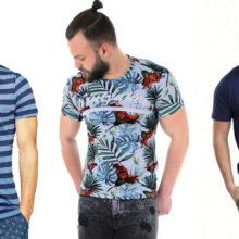 Тренды на мужские футболки 2019