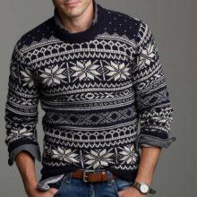 Какие в моде мужские свитера в 2019: модные тренды