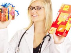 Что можно подарить женщине доктору в знак благодарности?