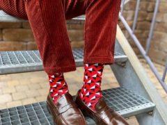 Носки, которые помогут заявить о себе, как о яркой и неординарной личности