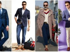 Модные сочетания с коричневым в мужском гардеробе