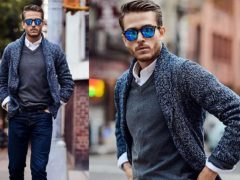 3 необычных стильных образа с обычным черным пиджаком
